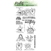 Picket Fence Studios - Halloween - Clear Photopolymer Stamps - You Creep Me Out