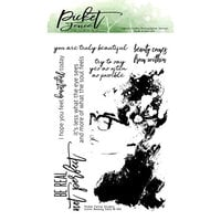 Picket Fence Studios - Clear Photopolymer Stamps - Iconic Beauty Sara
