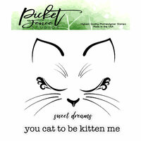 Picket Fence Studios - Clear Photopolymer Stamps - Olivia Kitten