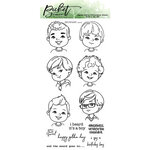Picket Fence Studios - Clear Photopolymer Stamps - Boys of All Seasons