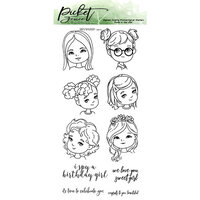 Picket Fence Studios - Clear Photopolymer Stamps - Girls of All Seasons