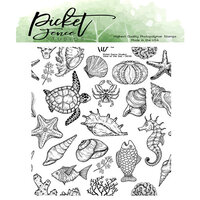 Picket Fence Studios - Clear Photopolymer Stamps - View of the Sea