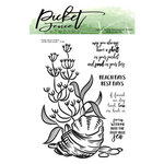 Picket Fence Studios - Clear Photopolymer Stamps - Whelk Shell Scene