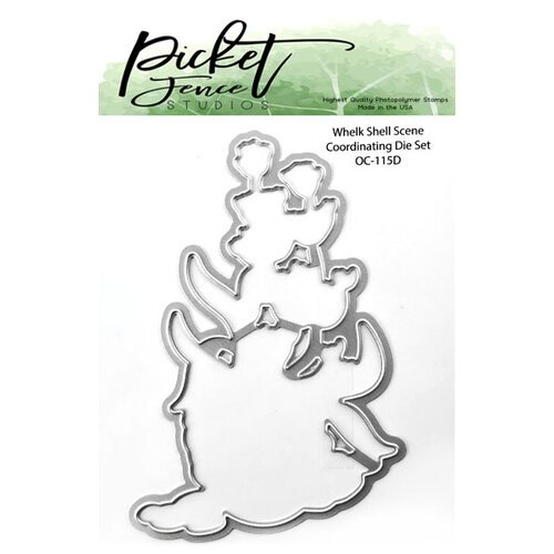 Picket Fence Studios - Dies - Whelk Shell Scene