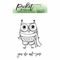Picket Fence Studios - Clear Photopolymer Stamps - Sweet Owl