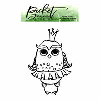 Picket Fence Studios - Clear Photopolymer Stamps - Princess Owl