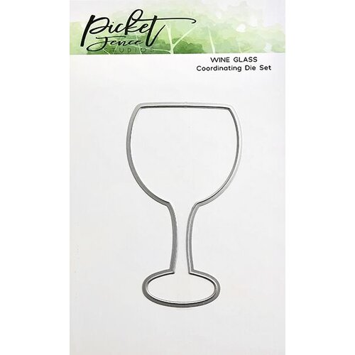 Picket Fence Studios - Dies - Wine Glass