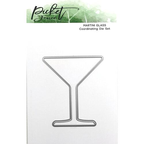 Picket Fence Studios - Dies - Martini Glass
