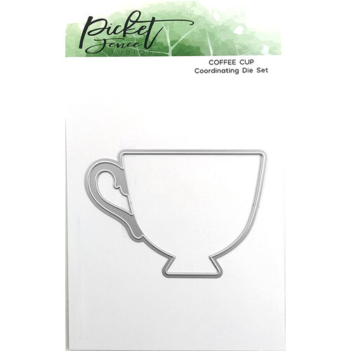Picket Fence Studios - Dies - Coffee Cup