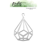 Picket Fence Studios - Dies - Pentagram Base Terranium