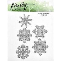 Picket Fence Studios - Dies - Winter Snowflakes