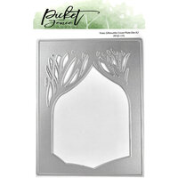 Picket Fence Studios - Dies - A2 Trees Silhouette Cover Plate