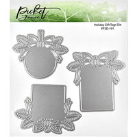 Picket Fence Studios - Christmas - Dies - Holiday Gift Tags