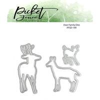 Picket Fence Studios - Dies - Deer Family