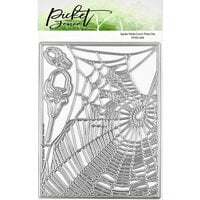 Picket Fence Studios - Halloween - Dies - Spider Web Cover Plate