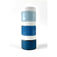 Picket Fence Studios - Paper Glaze - Sky Blues Ombre Set - 3 Pack