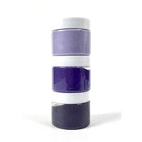Picket Fence Studios - Paper Glaze - Sunset Purples Ombre Set - 3 Pack