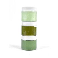 Picket Fence Studios - Paper Glaze - Grass Greens Ombre Set - 3 Pack