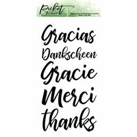 Picket Fence Studios - Clear Photopolymer Stamps - Ways to Say Thanks