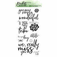 Picket Fence Studios - Clear Photopolymer Stamps - Simply Wonderful
