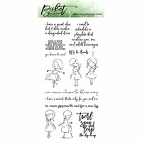 Picket Fence Studios - Clear Photopolymer Stamps - Sweet Dear Friend