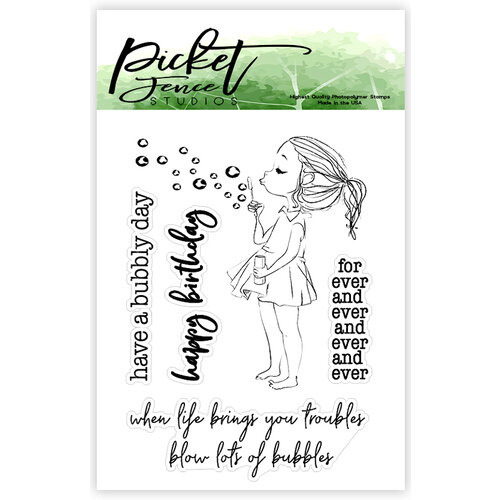 Picket Fence Studios - Clear Photopolymer Stamps - Kylee Boo
