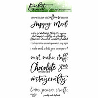 Picket Fence Studios - Clear Photopolymer Stamps - Crafty Mail