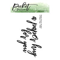 Picket Fence Studios - Clear Photopolymer Stamps - A Paper Hug