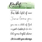 Picket Fence Studios - Clear Photopolymer Stamps - Every Good and Perfect Gift