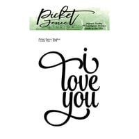 Picket Fence Studios - Clear Photopolymer Stamps - I Love You