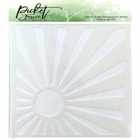 Picket Fence Studios - Stencil - Sunburst