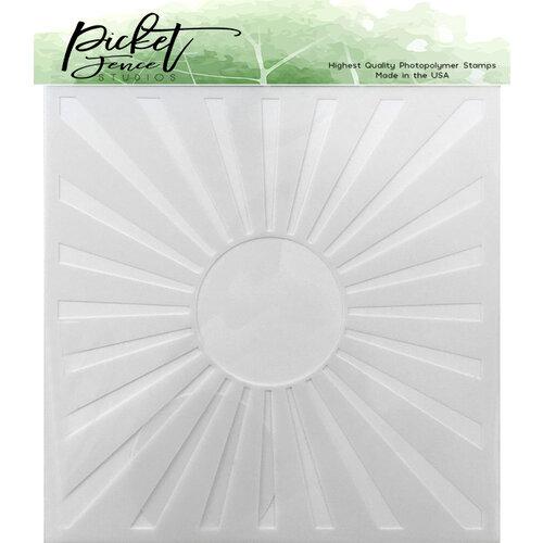 Picket Fence Studios - Stencil - Sunbeam