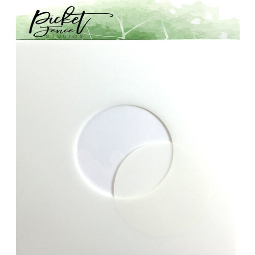 Picket Fence Studios - Stencil - 2.5 Inch Circle