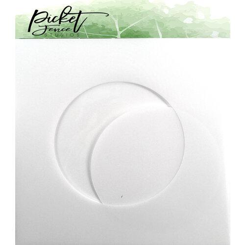 Picket Fence Studios - Stencil - 3.5 Inch Circle
