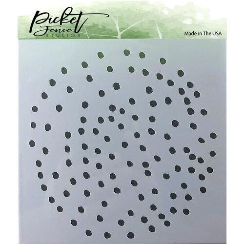 Picket Fence Studios - Stencil - Polka Dot