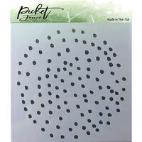Picket Fence Studios - Stencil - Polka Dot