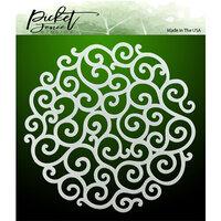 Picket Fence Studios - Stencil - Flourish Circle
