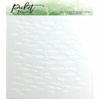 Picket Fence Studios - Stencil - Ocean of Fish