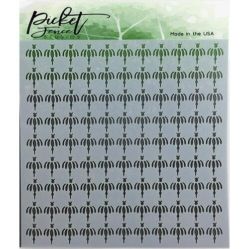 Picket Fence Studios - Stencil - Dandelion