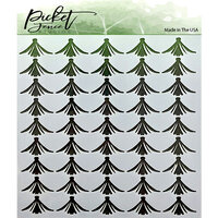 Picket Fence Studios - Stencil - 6 x 6 - Tulips