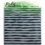 Picket Fence Studios - Stencil - Watercolor Brush Strokes