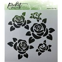 Picket Fence Studios - Stencil - Roses