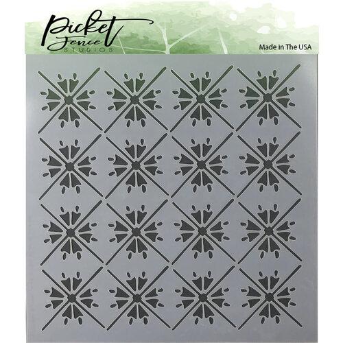 Picket Fence Studios - Stencil - Moroccan Tiles