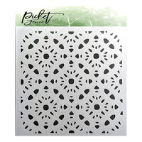Picket Fence Studios - Stencil - Patterns of Flowers