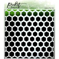 Picket Fence Studios - Stencils - Honeycomb