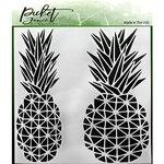 Picket Fence Studios - Stencil - Geo Pineapple