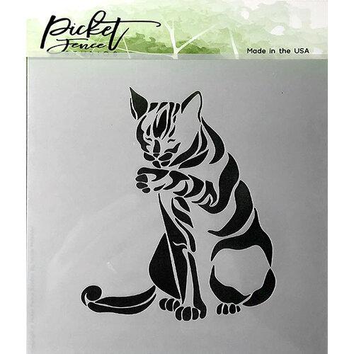 Picket Fence Studios - Stencil - Cat