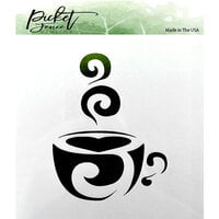 Picket Fence Studios - Stencils - Coffee Cup