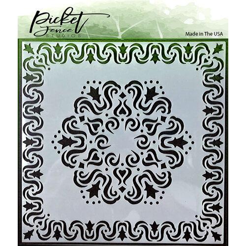 Picket Fence Studios - Stencil - Fleur Di Lis