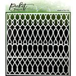Picket Fence Studios - Stencil - Knots Scales